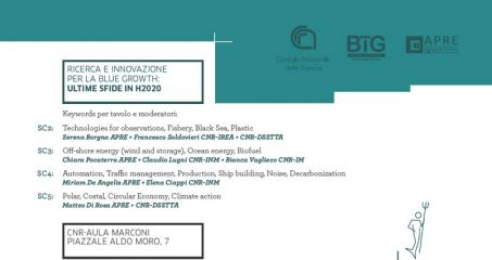 Workshop: Opportunità H2020 in ambito Blue Growth