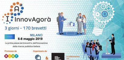 InnovAgorà, Piazza dei Brevetti e dell'Innovazione Italiana – Milano, 6-8 Maggio 2019