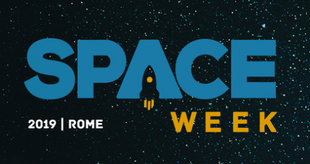 "Space Week 2019 – Rome, 9-11 October 2019 <p style=""color:#A80000;""><font size=""4""><strong>Open Registrations</strong></font></p>"