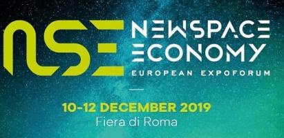 New Space Economy European Expo Forum – Rome, 10-12 December 2019