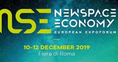 New Space Economy European Expo Forum – Rome, 10-12 December 2019