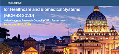 Mathematical Modelling and Control for Healthcare and Biomedical Systems (MCHBS 2020) – Roma, 8-10 Settembre 2020