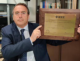 (Italiano) A Riccardo Lanari il Distinguished Achievement Award dell'IEEE Geoscience and Remote Sensing Society