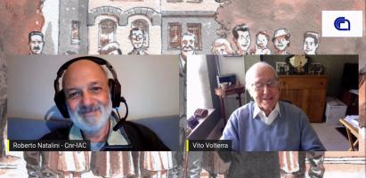 (Italiano) Videointervista a Vito Volterra (e non solo!)